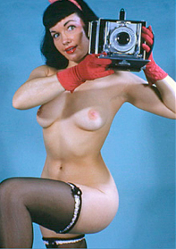 Bettie Betty camera shoots you