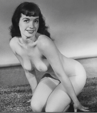 Perfect body Bettie Betty Page